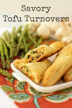 Savory Tofu Turnovers www.veganmotherhubbatd.com