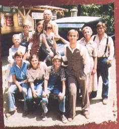 The Waltons....  One of the few t.v. shows I allow my children to watch.