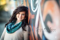 love the idea of using graffiti to put some color in standard portraits <3