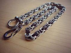 Wallet Chain-15 por EdcApparatus en Etsy