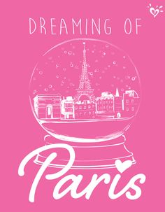 Dreaming of a white Christmas... in Paris!