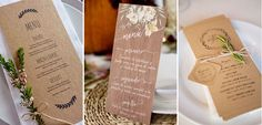 Papelería de boda para novias rustic chic Place Cards, Place Card Holders, Wedding Stationery, Brides, Invitations
