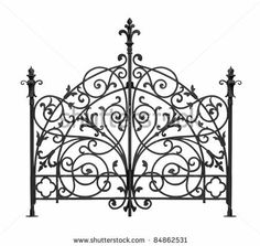 Wrought iron designs Iron Fence Wrought Iron Headboard Wisegeek What Are The Different Styles Of Wrought Iron Design Headboards Wrought Iron Headboard, Fence Headboard, Wrought Iron Garden Gates, Iron Furniture, Iron Art, Gate Design, Metal Fences, Fencing, Google Search