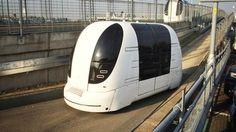 Heathrow airport's autonomous pod cars