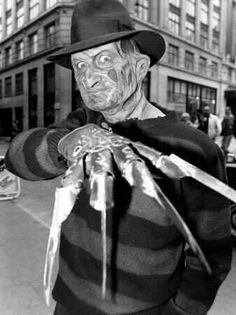 Stock Photo - Actor Robert Englund who played Freddy Krueger in the film 'A Nightmare on Elm Street' arrives for the taping of the Fuse/Fangoria Chainsaw Awards held at the Orpheum Theater Freddy Krueger, Horror Icons, Horror Films, Freddy Horror, Freddy's Nightmares, Robert Englund, Horror Pictures, Slasher Movies, Horror Monsters