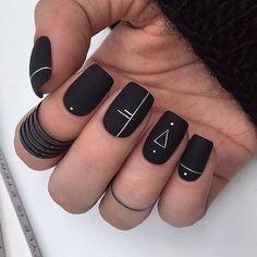 Manis That Will Make You Adore Squoval Nails – Nail Shapes Ideas - Nail art designs Acrylic Nails Coffin Short, Square Acrylic Nails, Best Acrylic Nails, Coffin Nails, Squoval Acrylic Nails, Nail Shapes Squoval, Acrylic Nails Almond Short, Square Oval Nails, Gradient Nails