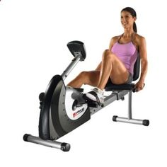 Recumbent exercise bikes are so comfortable and easy to use that eventually you can do workouts giving you results like youve spent hours a day on a stair-stepper. Recumbent bikes can give you a fat burning cardio workout with enough resistance to help you build long, lean muscle. Recumbent bikes also are great for your inner thighs.  Now I have ZERO excuse to not get in to amazing shape