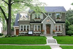 lovely decor, exteriors of houses, cottage house designs, storage rooms, houses exterior windows, cottage exterior homes, shingle style houses, dream houses, window boxes