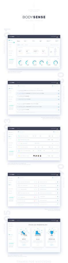 Here is our concept product of fitness tracker app. This service allows users to monitor current health condition. This presentation is showed by five pages, the main screen is dashboard. You can see how visualized statistics of the user. Below, you can …