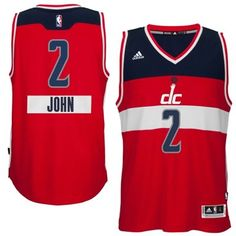 2014-15 Christmas Day Washington Wizards 2 John Wall adidas Red Swingman  Road Jersey dc3906212