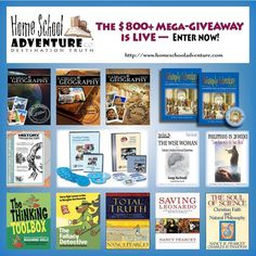 Philosophy Adventure Review & Launch Celebration ~ Mega Giveaway Package! Three winners. Philosophy Adventure, A Child's Geography, Institute for Excellence in Writing, Philippians in 28 Weeks, Fallacy Detective, History Through the Ages, The Soul of Science, and more! - The Homeschool Four
