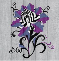 Flower created in Colourfy #colourfy #flower #purple
