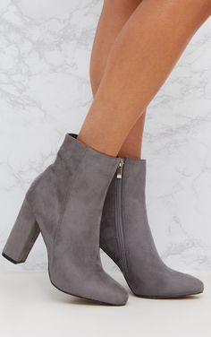 7a554ee152ce 14 Best Grey Ankle Boots images