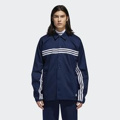 49d8cdf267db1 Shop for Men s Schlepp Jacket - Blue at adidas.ca! See all the styles and  colours of Men s Schlepp Jacket - Blue at the official adidas online shop  Canada.