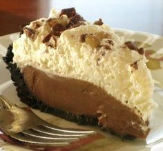 "Chocolate Bar Icebox Pie: ""This was a great recipe. The pie filling was very easy to make and the taste was rich and creamy."" -Chef #300113"