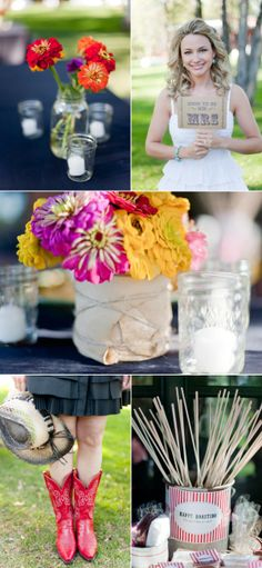 Cowboy Themed Rehearsal Dinner by Jessica Claire | The Wedding Story
