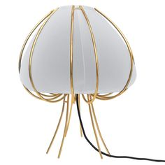 Ane Table Lamp | Finished gold lamps