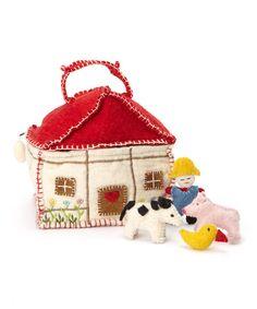 Felted Farm House Set