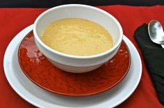 Shrimp & Corn Bisque from Denicola's - puree the blend for a smooth, rich soup!