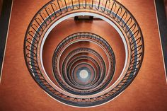 Spiral and Geometric Staircases Shot From Above – Fubiz Media