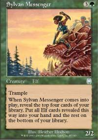 Sylvan Messenger from Apocalypse at TCGplayer.com as low as $0.38