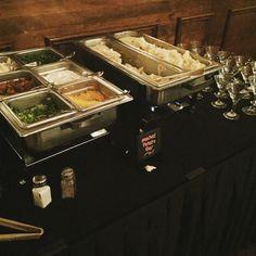 Mashed Potato Bar! #oliviasbanquetfacility