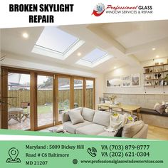 Get the best skylight Repair service in Virginia, Maryland, and Washington DC areas, call a Professional Glass Window Services and Repair is available 24/7 for your home and workplace. For more information visit us at Professional Glass Window Services and Repair  #BrokenskylightRepair #BrokenStorefrontRepair #BrokenStormWindowRepair #CommercialFoggyGlassRepair #glassrepair #glassreplacement #virginia #Washington #DC #MD Window Repair, Washington Dc Area, Glass Repair, Glass Replacement, Skylight, Maryland, Workplace, Virginia, Bathtub