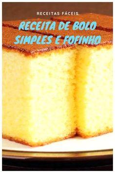 Easy Cake Recipes - New ideas Easy Smoothie Recipes, Easy Smoothies, Good Healthy Recipes, Easy Birthday Cake Recipes, Easy Cake Recipes, Snack Recipes, Homemade Frappuccino, Peach Cake, Coconut Recipes