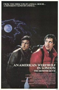 """""""An American Werewolf in London"""" - Um Lobisomem Americano em Londres, 1981 by John Landis ( It is a 1981 comedy-horror film written and directed by John Landis, and starring David Naughton, Jenny Agutter, and Griffin Dunne. Commented by eli sa) Best Horror Movies, Classic Horror Movies, Horror Movie Posters, 80s Movies, Scary Movies, Good Movies, Love Movie, I Movie, Movie Club"""