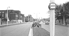 Looking towards Hammersmith town hall before construction of the flyover
