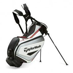 Bolsa de golf TaylorMade Tour Stand Bag 2015. Bolsa de golf TaylorMade con trípode, cuenta con 6 divisores, varios bolsillos, portaparaguas incluido. Funda para la lluvia. Peso 3,1 kgs.