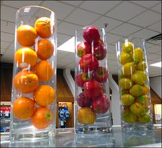 Fruits as Juicer Inducer Point of Purchase Propping