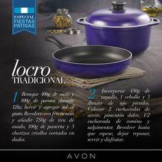 #Argentina ♥ ¿Qué mejor manera de celebrar la patria que con el típico locro? ¡Mirá este simple paso a paso y animate al sabor con Cucina Donna! http://avon4.me/1Bh8H9u ;) #Avon