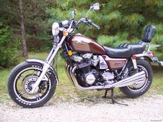 1983 Honda CB1000C. MY FIRST BRAND NEW BIKE. (After a couple dozen basket case Harleys, Triumphs, Nortons, BSA's etc.
