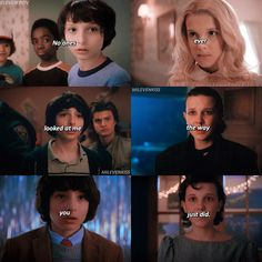 "970 Likes, 18 Comments - stranger things ❄️ (@milevenkiss) on Instagram: ""#milevenkissPOV he has such heart eyes towards her ••• #milliebobbybrown #finnwolfhard…"""