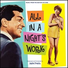 """All In A Night's Work"" (1961).  Music from the movie soundtrack.  This is a 2012 Kritzerland release."