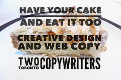 Two Toronto Copywriters on Behance