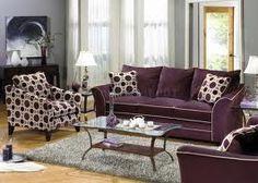 Living room ideas on pinterest purple gray olives and for Plum living room ideas