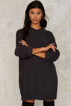 Nasty Gal Knit It Better Sweater - Clothes | Knits | Pullover | Tops
