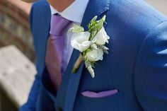 White Flowers Buttonhole Groom Country Marquee Wedding https://www.fullerphotographyweddings.co.uk/