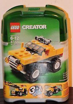 Lego Creator Set 6742 Retired New NIP Mini Off-Roader Building Blocks Toys