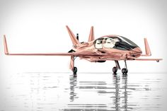 Cobalt Valkyrie-X Rose Gold Personal Jet