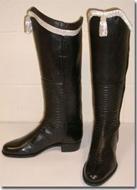"""""""Polished"""" Hessians    Hessian (from Hesse in Germany) refers to a style of boot that became popular in the 18th century."""