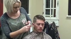 Young Men Haircuts a