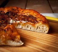 Masa de pizza casera | Recetas con fotos paso a paso El invitado de invierno