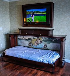 Leave it to Disney to come up with a magical pull-down trundle bed, one of many neat amenities at the new Grand Floridian Villas.