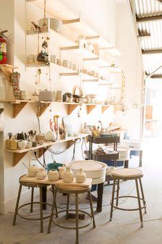 Studio Shelves photo by Diana Koenigsberg