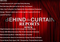Behind The Curtain Reports 10-10-14 INFOWARS.COM  BECAUSE THERE'S A WAR ON FOR YOUR MIND