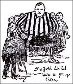 Group Photo for Sheffield United with Fatty Foulkes