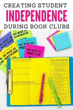 Do you use book clubs in your classroom? I am a serial book club starter and I have 5 easy tips to getting student led book clubs started in your classroom! Teaching 5th Grade, 5th Grade Reading, Help Teaching, Teaching Reading, Guided Reading, Reading Resources, Reading Strategies, Reading Comprehension, Book Clubs